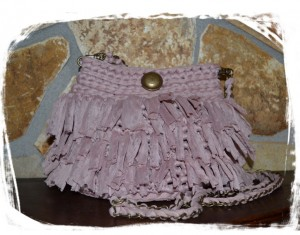 bolso vintage redondo