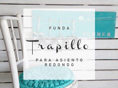 FUNDA DE SILLA EN TRAPILLO