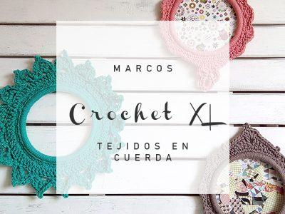 MARCO EN CROCHET CON CUERDA