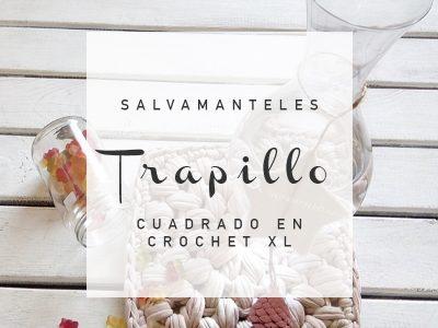 SALVAMANTELES TRAPILLO CUADRADO
