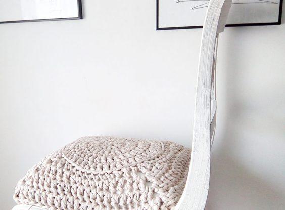 Asiento silla en trapillo