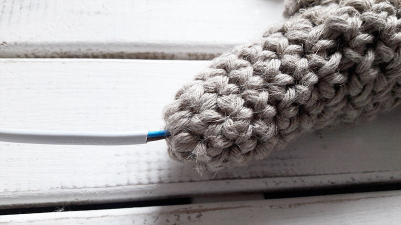 lampara crochet XL sin estructura