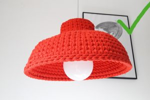 lampara embudo crochet xl