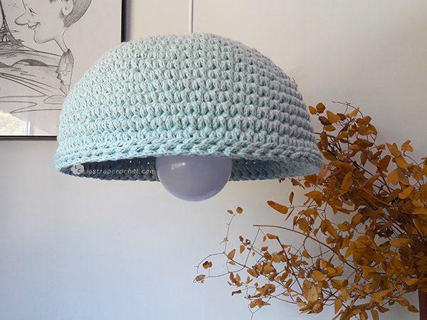 lampara media esfera