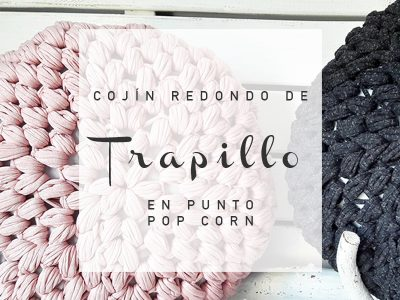 Cojín-redondo-de-trapillo-en-punto-pop-corn
