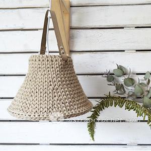 ¿Cómo hacer una lámpara crochet xl sin soporte?