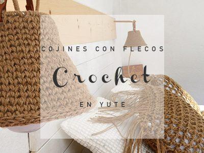 cojines-con-flecos-crochet-en-yute