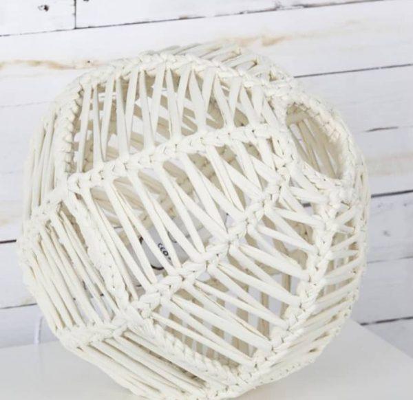 lampara esferica en crochet nº 1-11