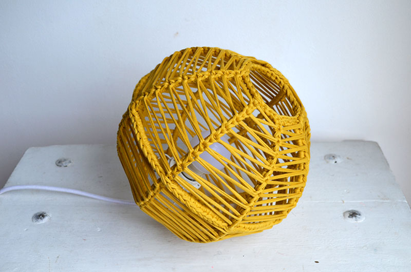 lampara esferica en crochet nº 1-12