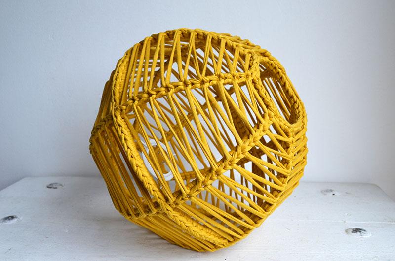lampara esferica en crochet nº 1-16